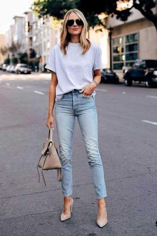 Cute Simple Outfits with Stilettos-17
