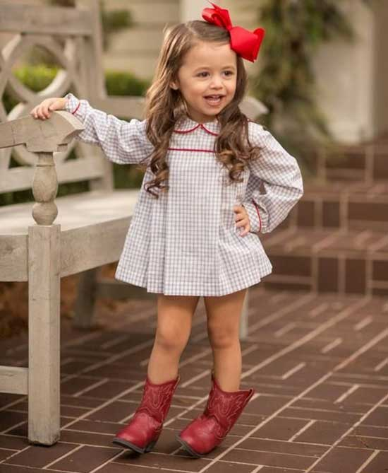 Pretty Cowgirl Boots for Little Girls-18