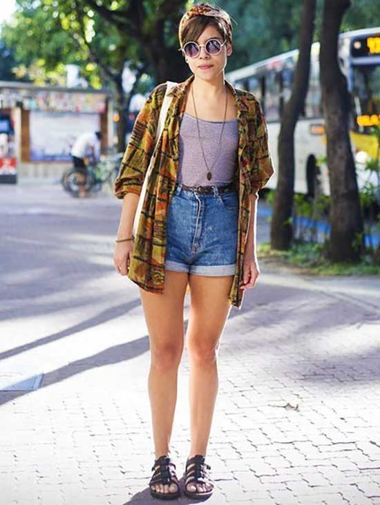 Cute Flannel Outfits-21