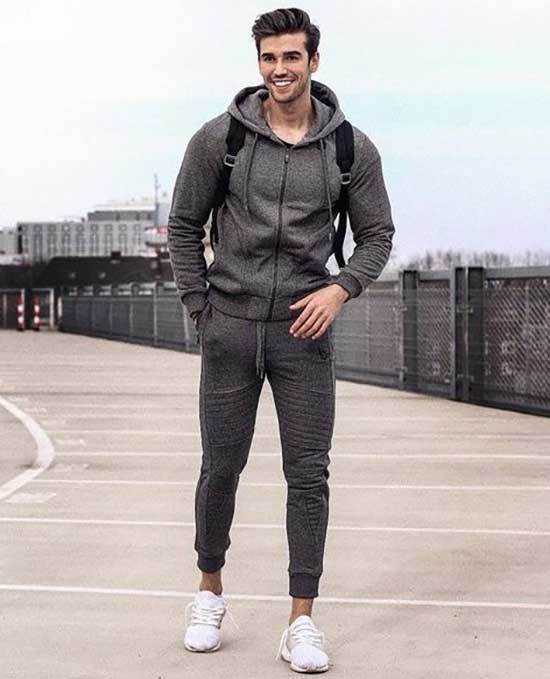 White Shoes Outfit Men-21