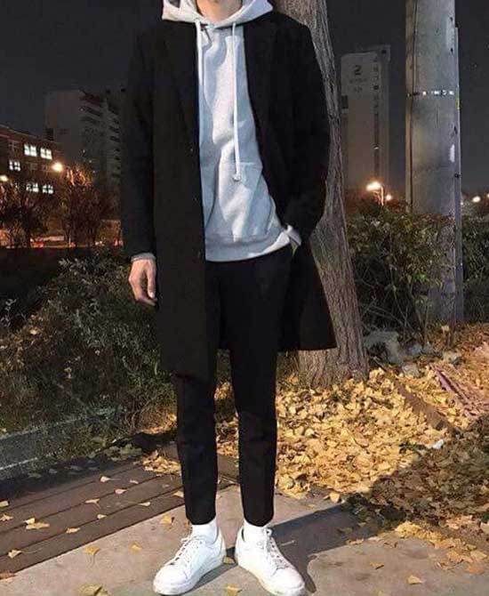 Cool Casual Sweater and Coat Clothes for Guys-22