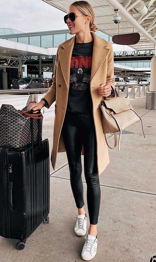 Black Leggings Outfit Ideas-22