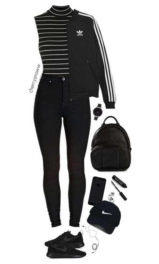 Sporty Outfits for Girls-23