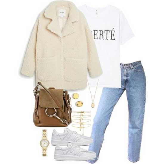 Korean Girl White Sneakers Outfits-25