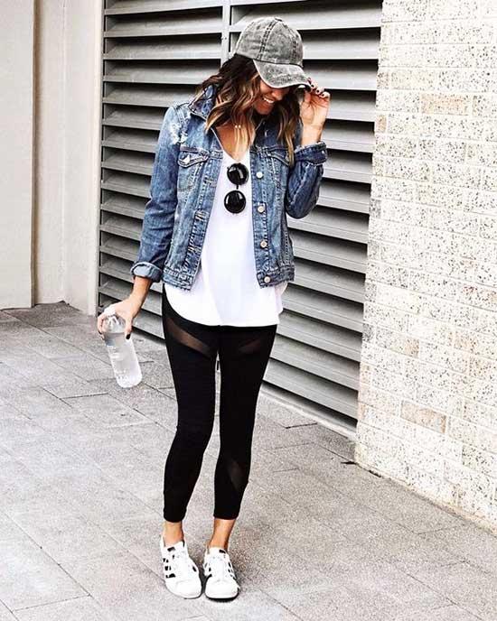 Black Leggings Outfit Ideas-25