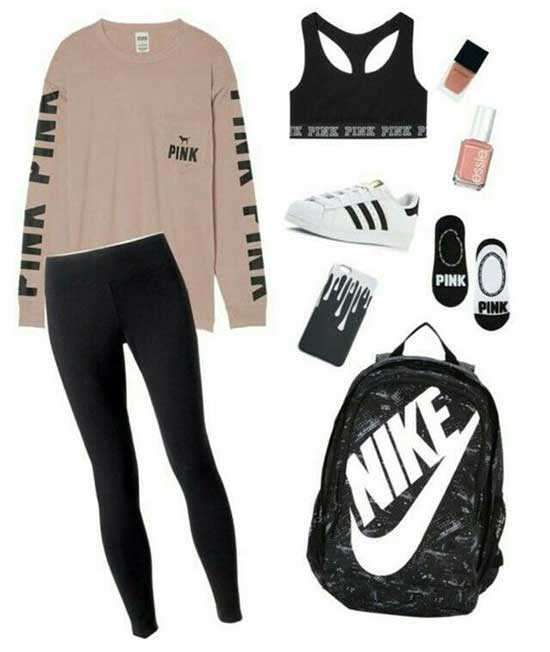 Sporty Outfits for Girls-25