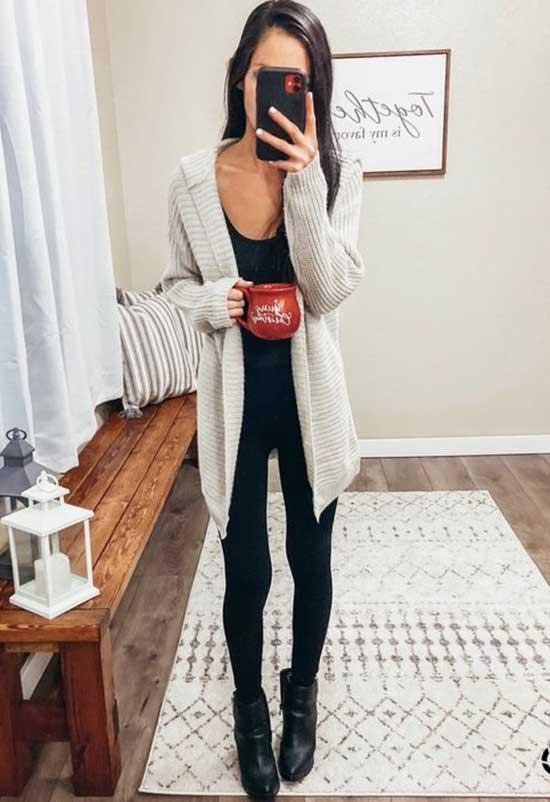Black Leggings Outfit Ideas-27