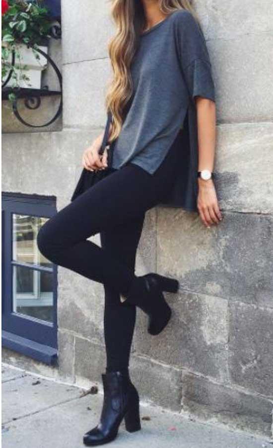 Black Leggings Outfit Ideas-28