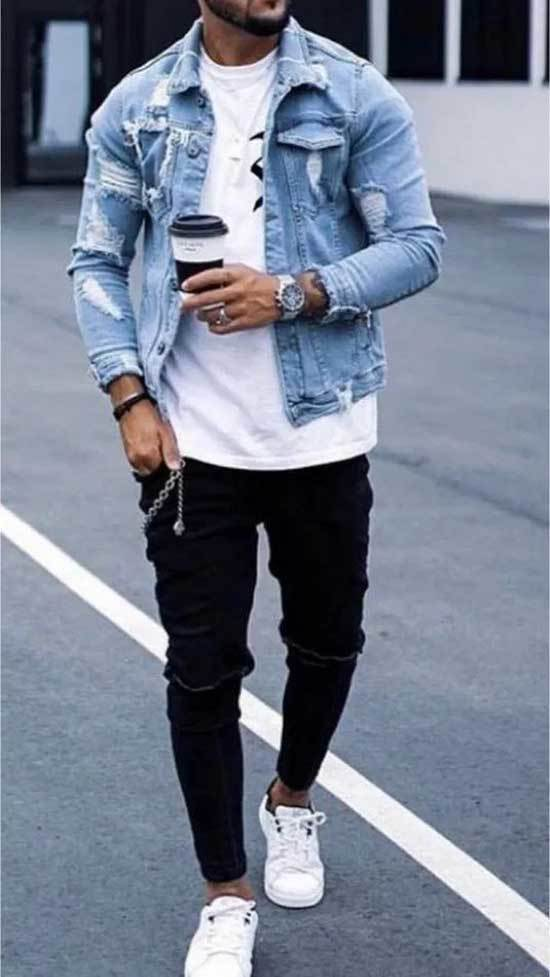 White Shoes Outfit Men-32