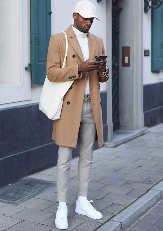 White Shoes Outfit Men-34