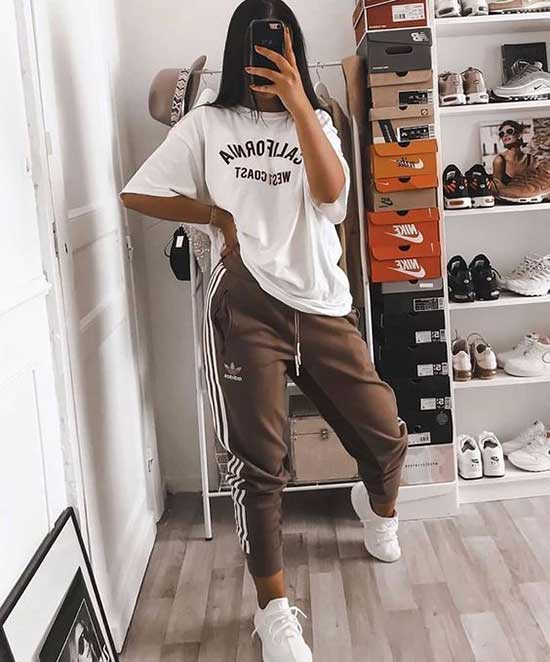 Sporty Daily Outfits for Girls-6