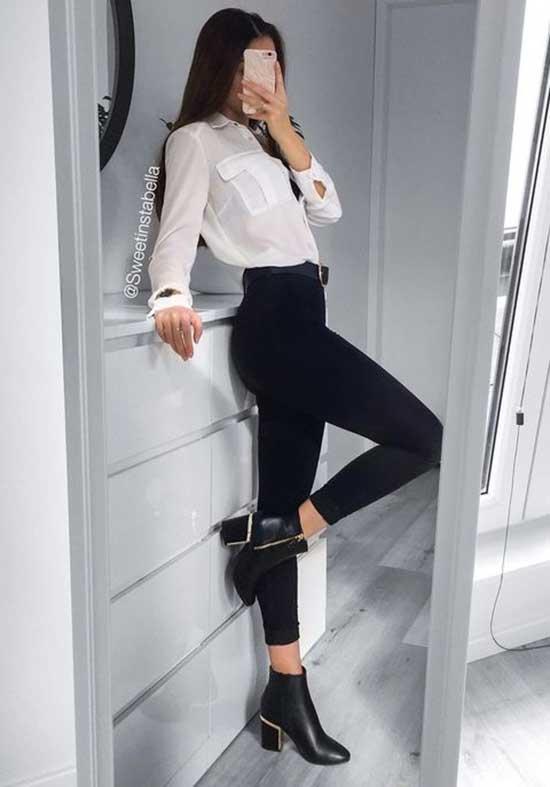 Black Leggings Outfit Ideas