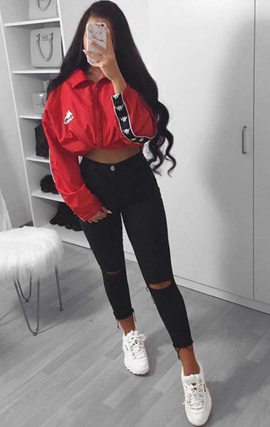 Sport Outfit Girl