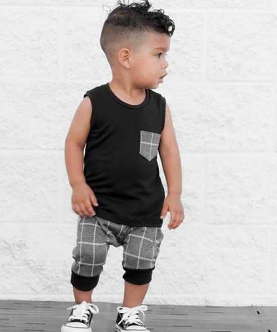 Baby Boy Sleeveless T-Shirt Clothes Ideas-10
