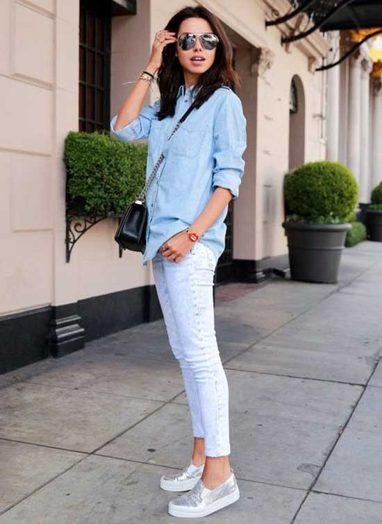 Cute and Casual Sneakers Outfits-10