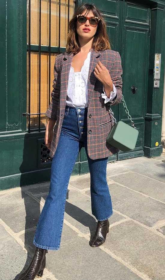 Parisian Blazer Street Style-10