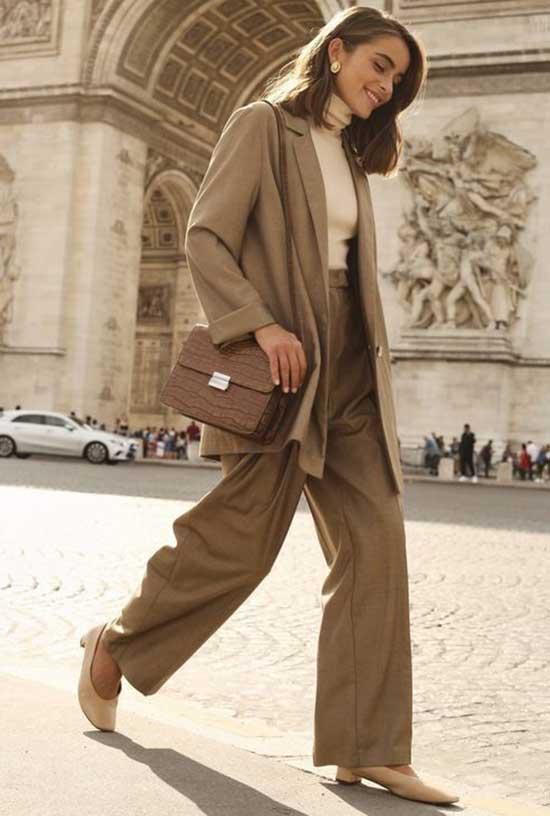 Loose Suit Parisian Street Style-11