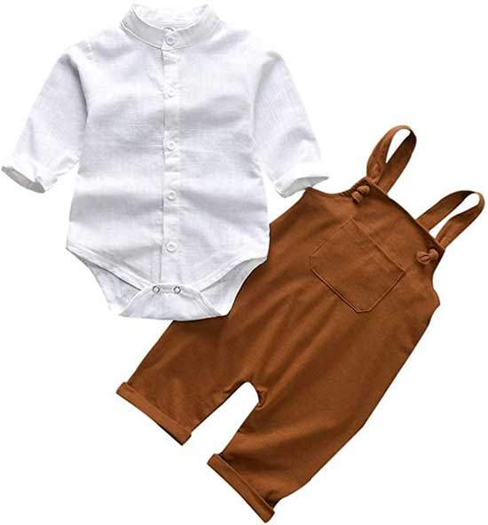 Baby Boy Overalls Ideas-12