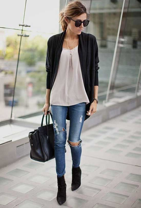 Cute and Casual First Date Outfits-12