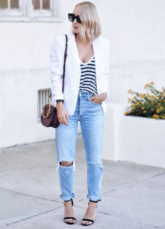 Daily White Blazer Outfit Ideas-12