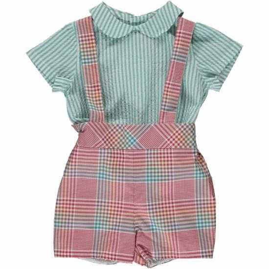 Baby Boy Plaid Pattern Clothes Ideas-13