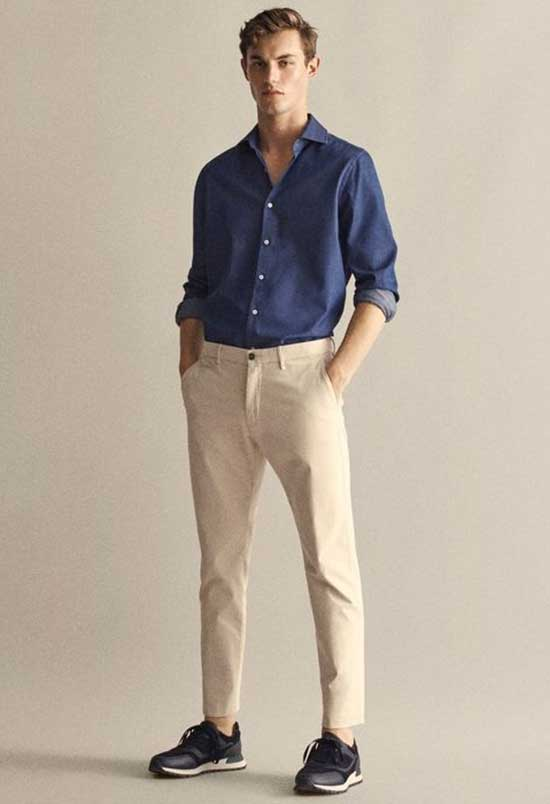 Casual Date Outfit with Sneakers Male-13