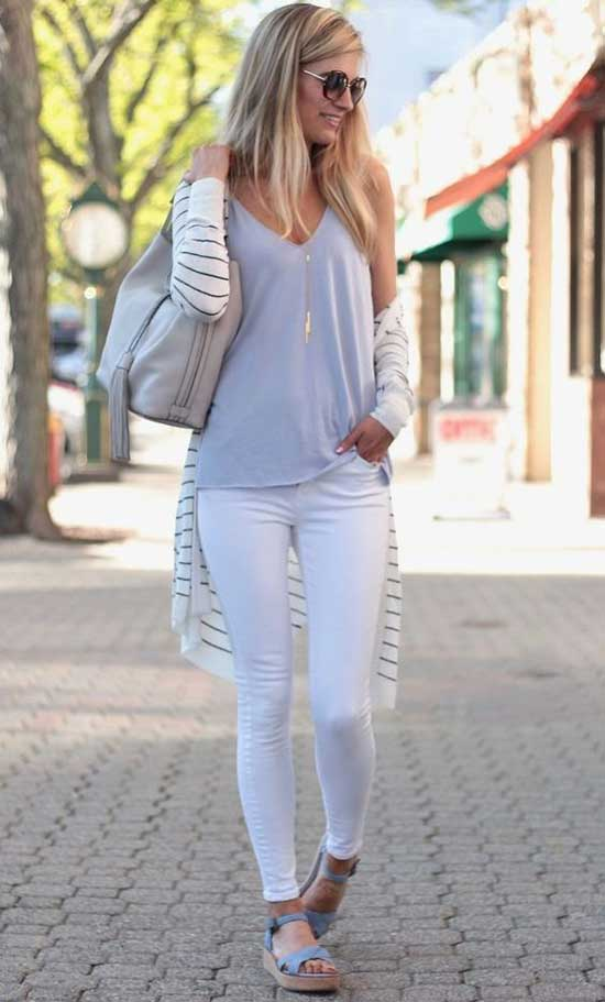 Cute and Casual Long Cardigan Outfits-13