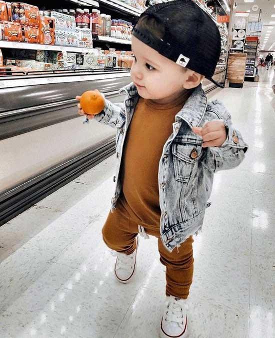 Baby Boy Jean Jacket Clothes Ideas-14
