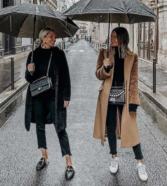 Rainy Day office Outfit-14