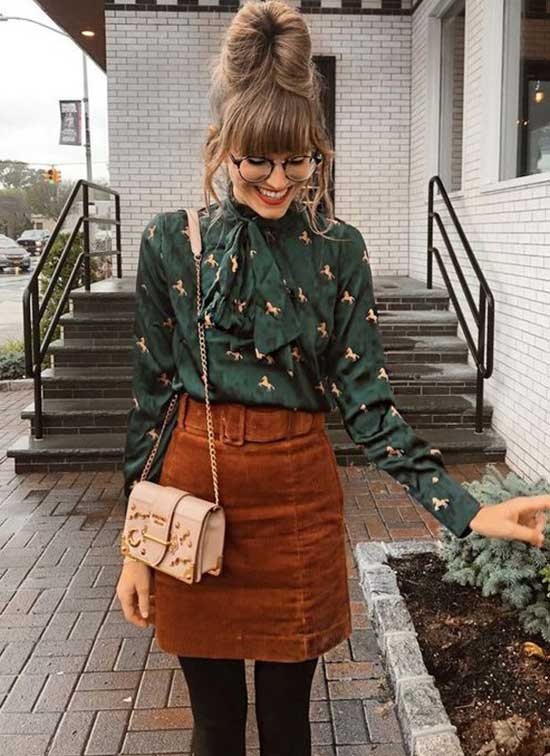 Rainy Day Fall office Outfit-15