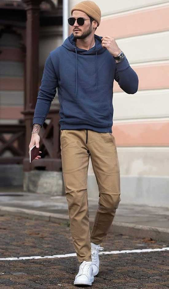 Casual Sporty Date Outfit Male-16