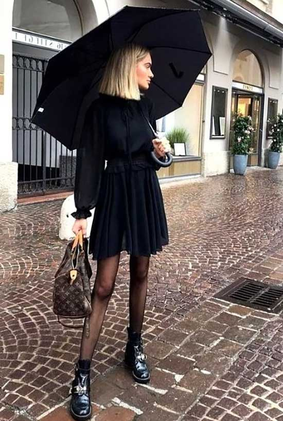 Rainy Day office Outfit-16