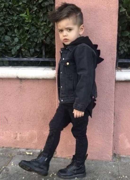 Baby Boy All Black Clothes Ideas-17