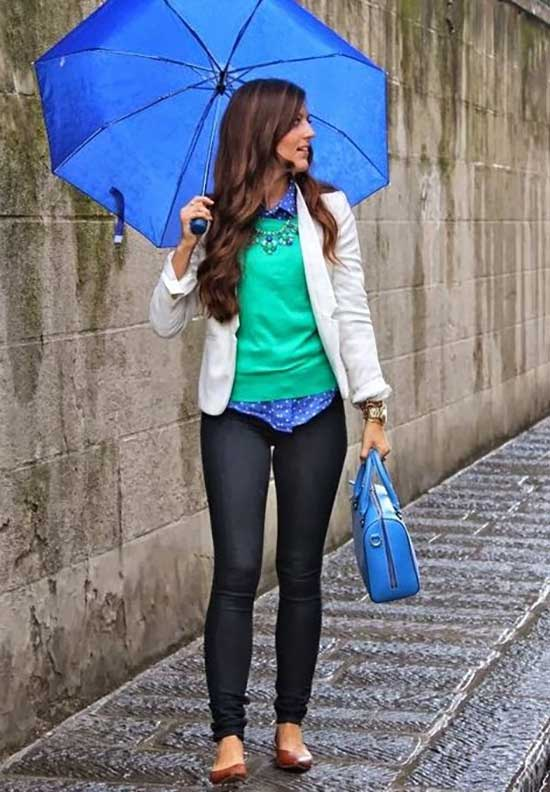 Rainy Day office Outfit-17