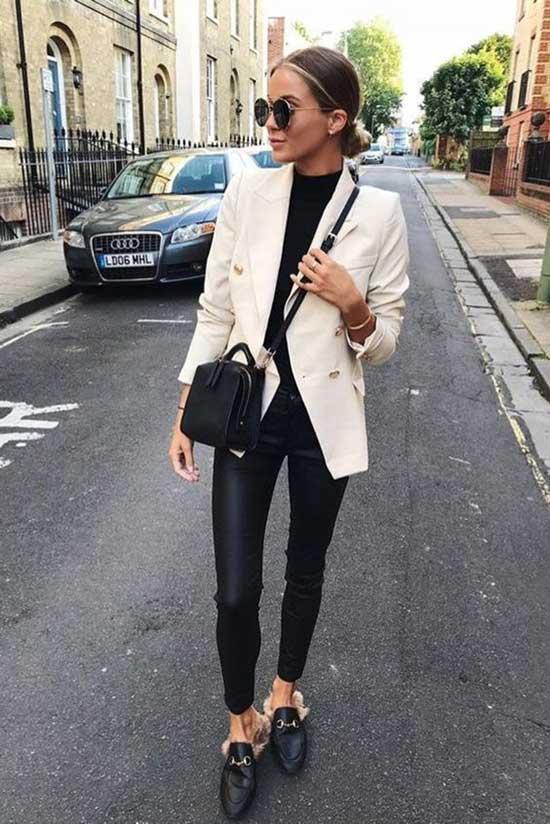 Classy White Blazer Outfit Ideas-18