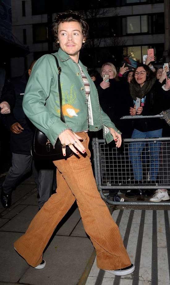Harry Styles Bomber Jacket Clothing-18