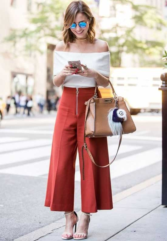 Cute and Casual Plazzo Pants Outfits-19