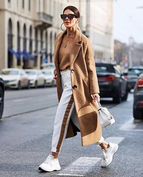 Casual Camel Coat Street Fashion-20