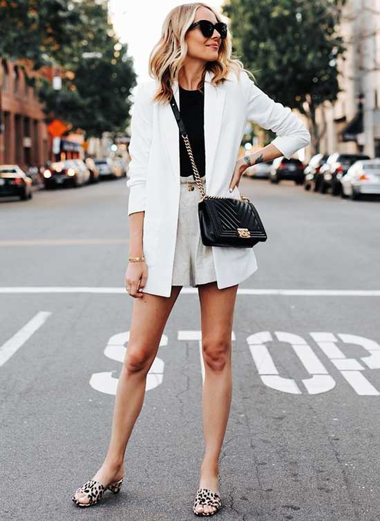 White Blazer Summer Outfit Ideas-20