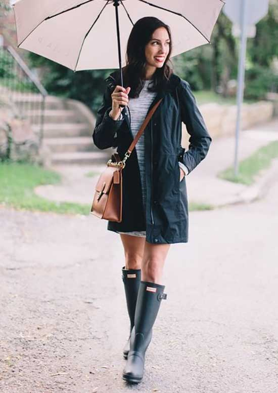 Rainy Day office Outfit-22