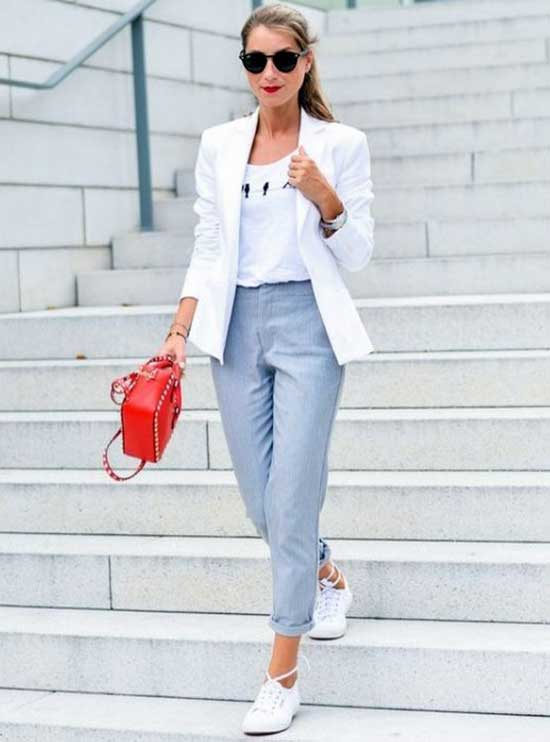 White Blazer Outfit Ideas-22