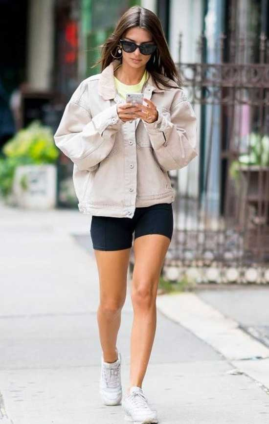 Bike Shorts Outfits-24