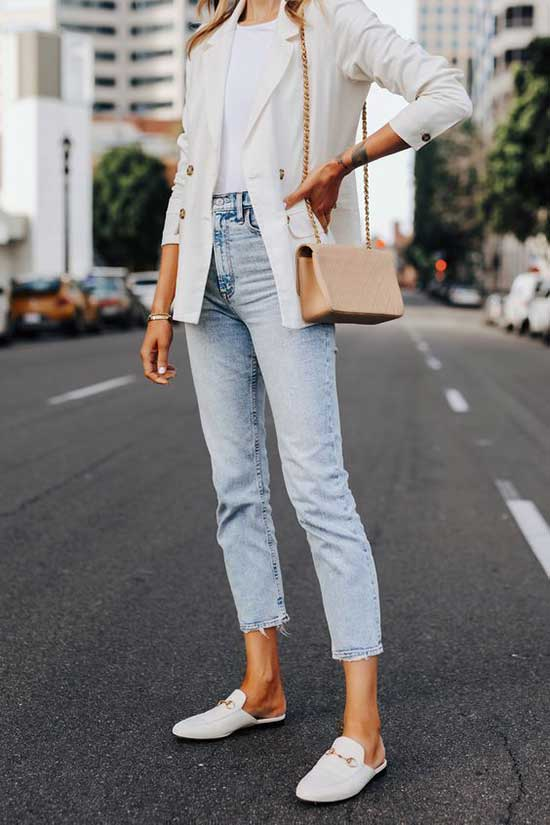 White Blazer Outfit Ideas-24