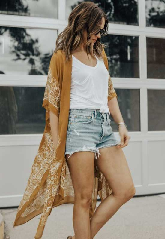 Cute Outfits with Jean Shorts-25