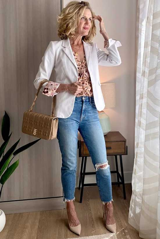 White Blazer Outfit Ideas-25