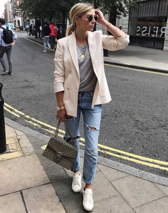 White Blazer Outfit Ideas-30