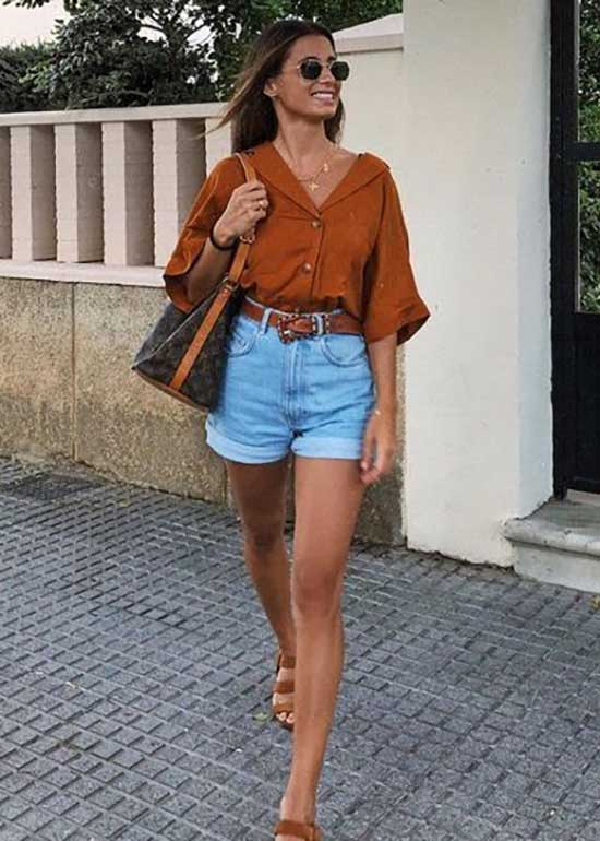 Cute Outfits with Jean Shorts-31