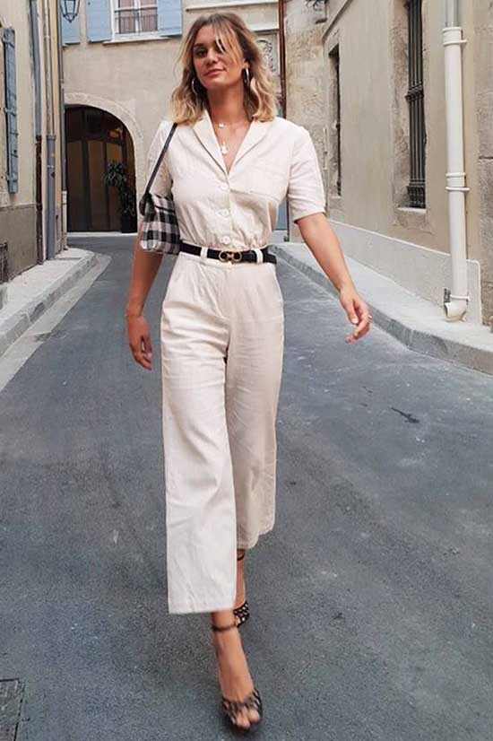 Parisian Wide Legged Pants Street Style-6