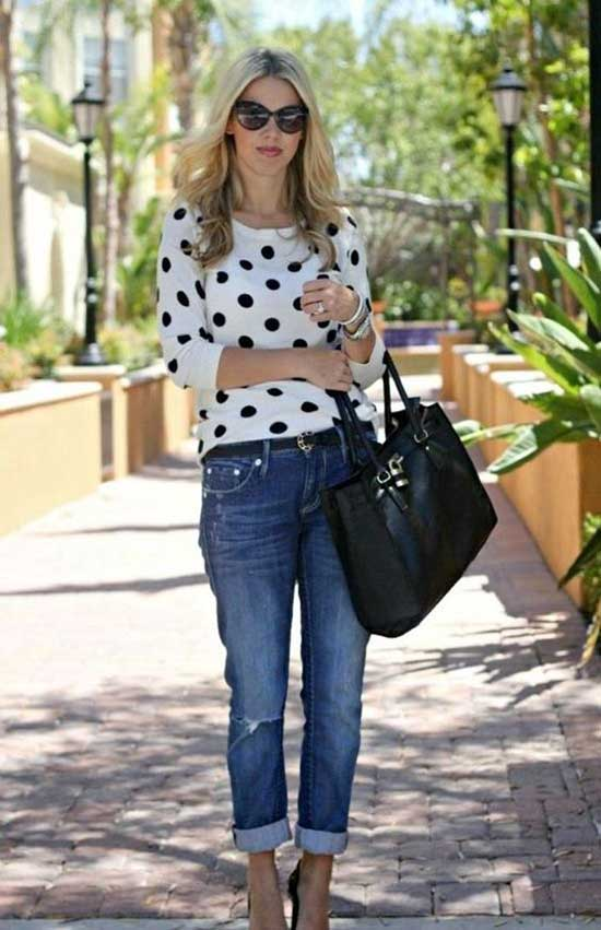 Simple Outfit Ideas for Women Over 40-6