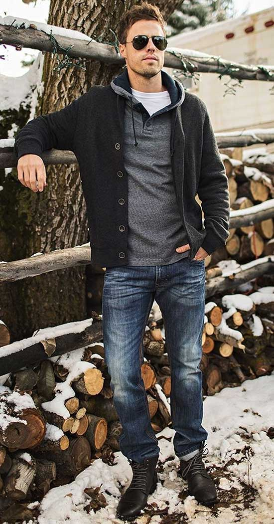 Casual Date Winter Outfit Male-7
